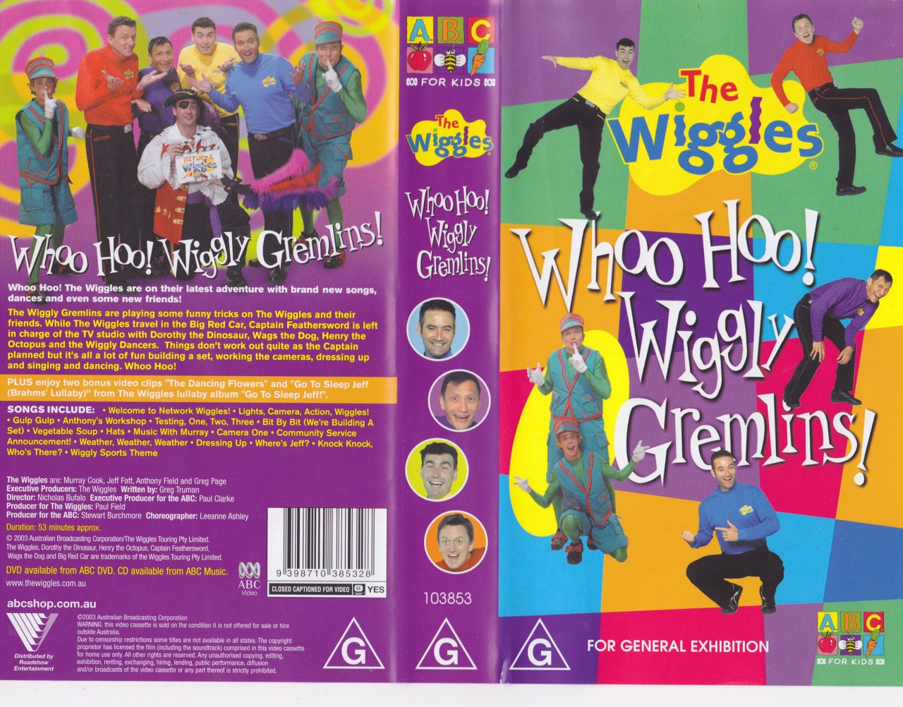 Opening to the wiggles whoo hoo wiggly gremlins 2003 australian opening to the wiggles whoo hoo wiggly gremlins 2003 australian vhs 20th century fox version scratchpad fandom powered by wikia sciox Choice Image