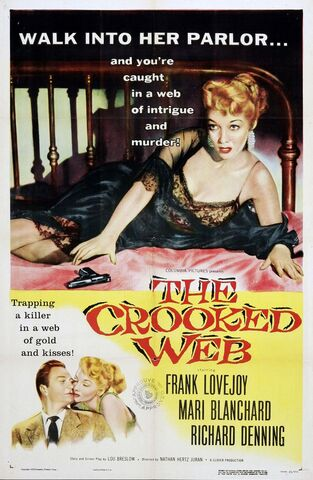 File:1955 - The Crooked Web Movie Poster.jpg
