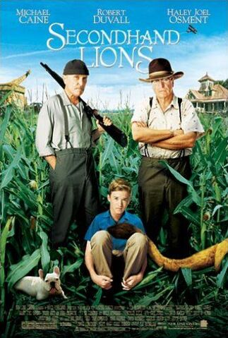 File:2003 - Secondhand Lions Movie Poster.jpg
