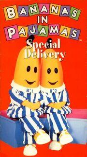 Bananas in pajamas special delivery vhs