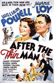 1936 - After the Thin Man Movie Poster