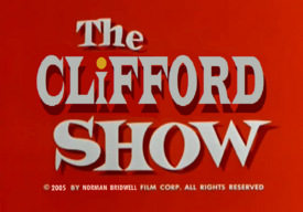 The Clifford Show logo (parody of The Alvin Show)