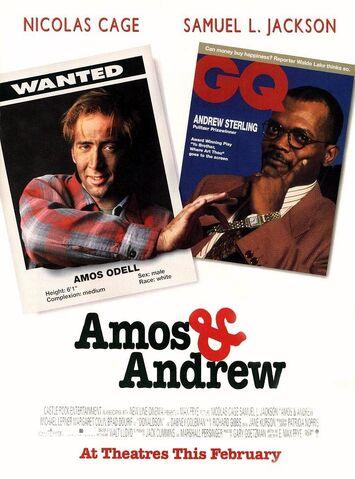 File:1993 - Amos & Andrew Movie Poster.jpg