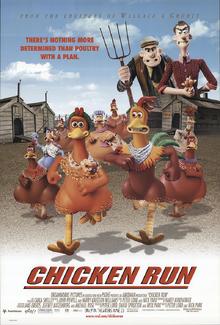 Chicken Run (2000) Poster