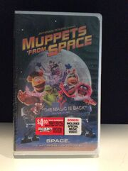 Muppets From Space 1999 VHS