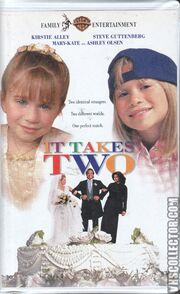 It Takes Two VHS Front Cover