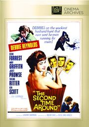 1961 - The Second Time Around DVD Cover (2012 Fox Cinema Archives)