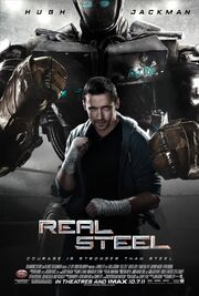 2011 - Real Steel Movie Poster