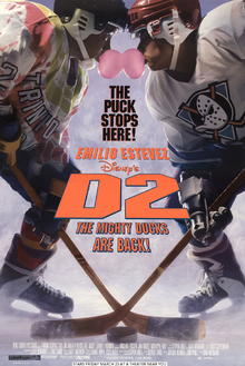 D2 The Mighty Ducks (1994) Poster