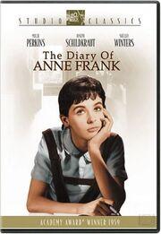1959 - The Diary of Anne Frank DVD Cover (2004 Fox Studio Classics)