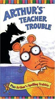 Arthur's Teacher Trouble VHS Cover