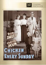 1949 - Chicken Every Sunday DVD Cover (2012 Fox Cinema Archives)