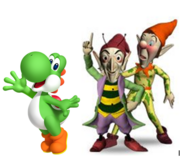 Yoshi, Sly and Gobbo