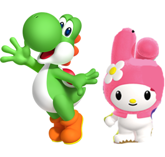 File:Yoshi and My Melody.PNG