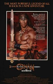 1984 - Conan the Destroyer Movie Poster