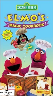 Elmos Magic Cookbook 1999 Universal VHS
