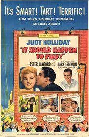 1954 - It Should Happen to You Movie Poster