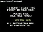 Report Video Tape Piracy Hotline Screen (1992-1994)