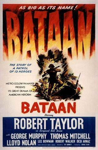 File:1943 - Bataan Movie Poster.jpg