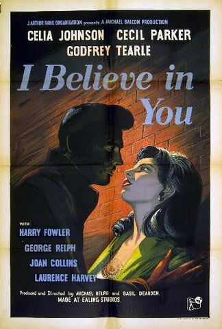 File:1952 - I Believe in You Movie Poster.jpeg