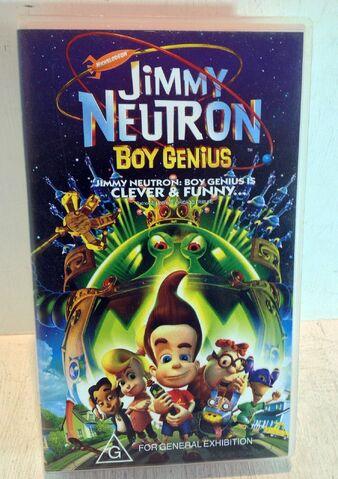 File:Jimmy Neutron Boy Genius Australian VHS.jpg