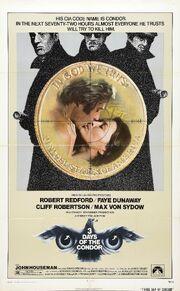 1975 - Three Days of the Condor Movie Poster