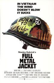 1987 - Full Metal Jacket Movie Poster