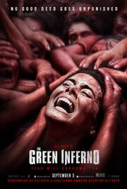 2014 - The Green Inferno Movie Poster