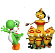 Yoshi and Skittles