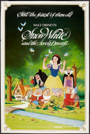 Snow white and the seven dwarfs 1983 poster