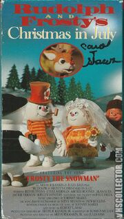 Rudolph and Frostys Christmas in July -VHS-front
