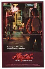 1984 - Alley Cat Movie Poster