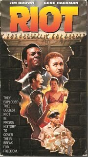 Riot 1993 VHS (Front Cover)