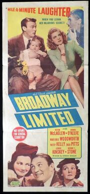 1941 - Broadway Limited Movie Poster