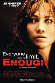 2002 - Enough Movie Poster