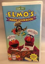 Sesame Street Elmos Magic Cookbook 2001 VHS