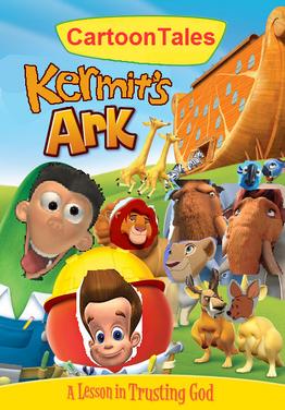 Cartoontales kermit ark dvd cover