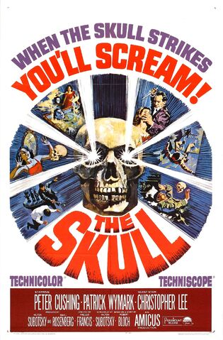 File:1965 - The Skull Movie Poster.jpg