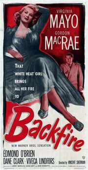 1950 - Backfire Movie Poster