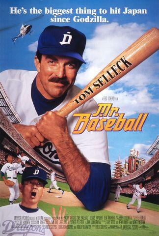 File:1992 - Mr. Baseball Movie Poster.jpg