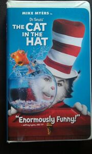 The Cat in the Hat 2004 VHS