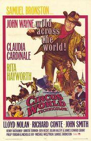1964 - Circus World Movie Poster