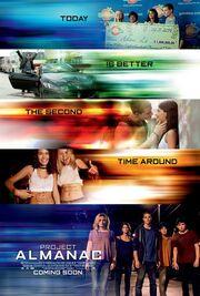 2015 - Project Almanac Movie Poster