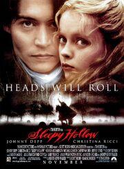 1999 - Sleepy Hollow Movie Poster