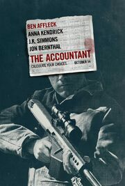 2016 - The Accountant Movie Poster