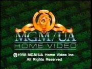 MGM-UA Home Video Rainbow Copyright Roll (1998)