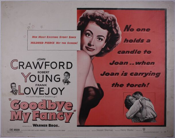 File:1951 - Goodbye, My Fancy Movie Poster.jpg