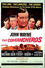 1961 - The Comancheros Movie Poster