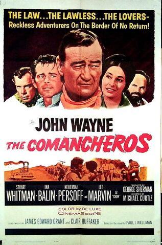 File:1961 - The Comancheros Movie Poster.jpg