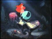 Ariel under the sea with joy